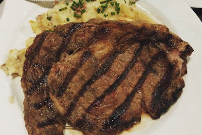 Choice cut Strip Steak